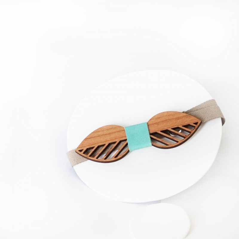 nœud papillon en bois pour mariage accessoire homme mariage MARTHO