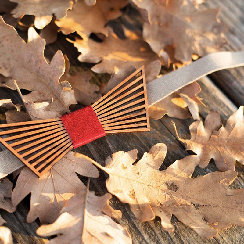 nœud papillon en bois LE TRUAND tenue de mariage homme MARTHO